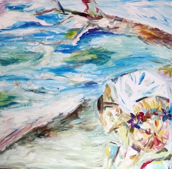 Leinwand At The Seaside Simoen Sonnentag